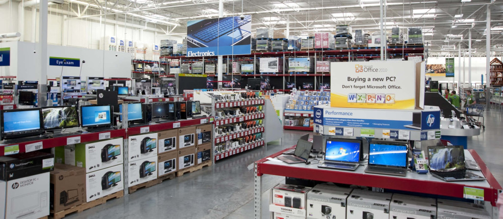 The_Electronics_section_inside_a_Sam's_Club_location_thumb